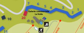 Plan station de Puy Saint Vincent