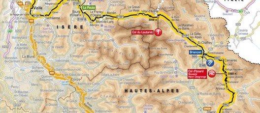 Passage du Tour de France le 19 juillet 2014