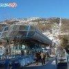 La gare de départ à Briançon