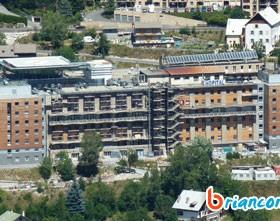 Blocage de Briançon samedi 25 février 2012