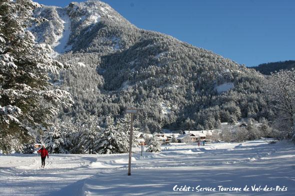 ouverture ski nordique en clarée décembre 2011