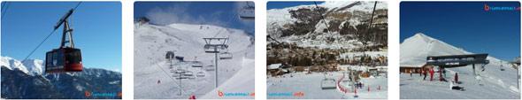 photos domaine skiable serre chevalier vallée