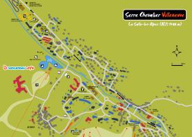 plan serre chevalier villeneuve 1400