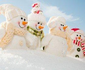 Enneigement pour le début des vacances d'hiver