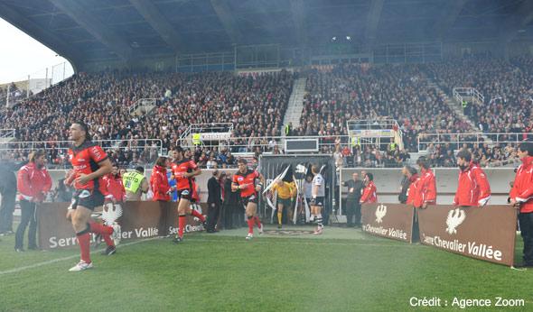 Serre Chevalier Vallée partenaire du match Toulon - Brive en 2010