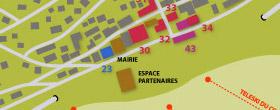 Plan station de Montgenèvre