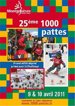 1000 pattes 2011 montgenèvre