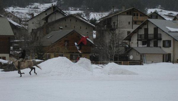2e Contest de ski-joering Val-des-Prés