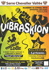 programme Vibraskion 2013 serre chevalier monetier