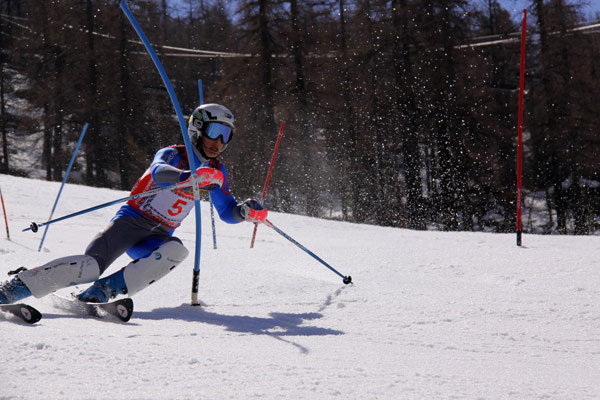 alexis brondex 3e slalom montgenevre