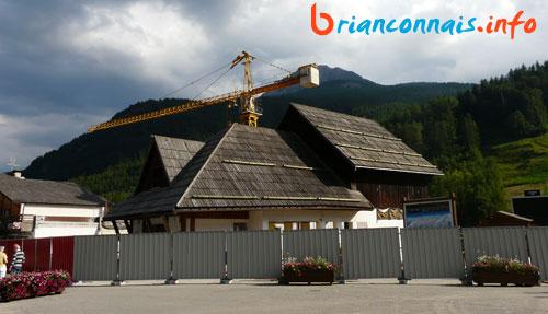 ancienne gare téléphérique serre chevalier