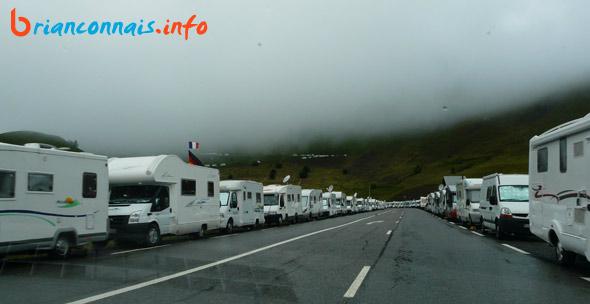 camping-car avant le col du lautaret 19 juillet 2011