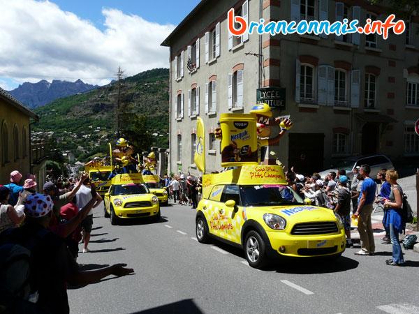 caravane tour 2011 nesquik briancon