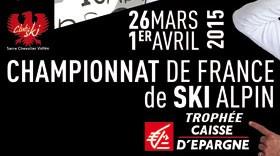 Championnat de France 2015 de ski alpin