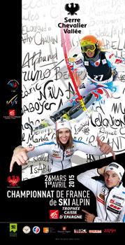 championnat france ski 2015 serre chevalier