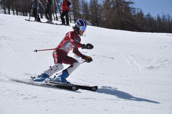clément noel 1er slalom montgenèvre