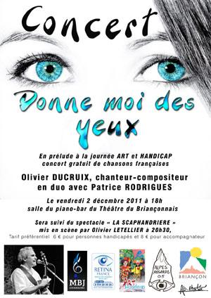 concert olivier ducruix à Briançon