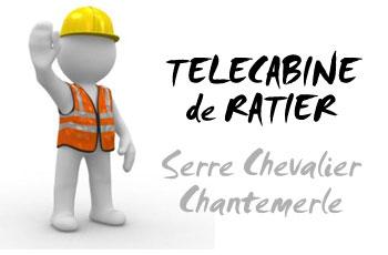 Construction de la Télécabine de Ratier