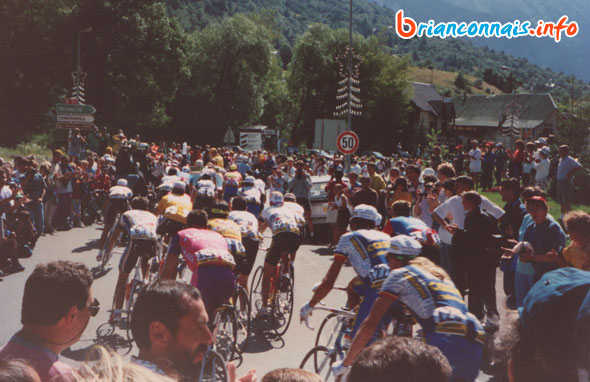 départ étape serre-chevalier Isola 2000 tour de france 1993