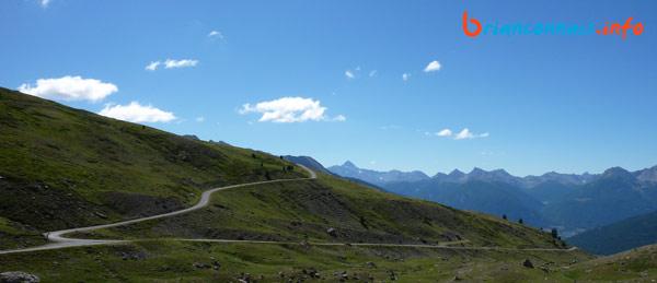 Le dernier lacet du col du Granon, il reste 3 km !