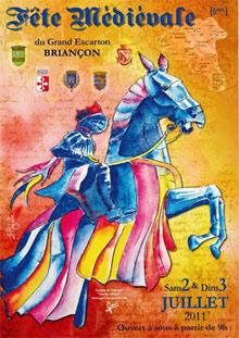 Fête médiévale du Grand Escarton à Briancon 2011