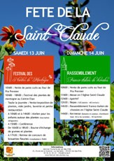 Fête de la Saint-Claude 2015
