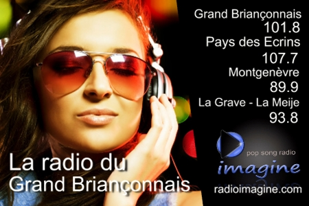 fréquences radio imagine grand briançonnais