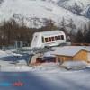 La gare aval du télésiège du Rocher Noir