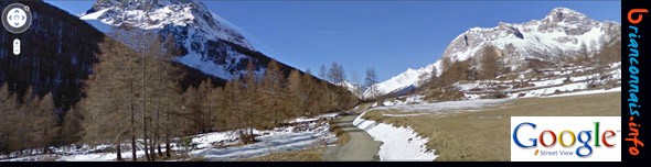 google vallée de la guisane