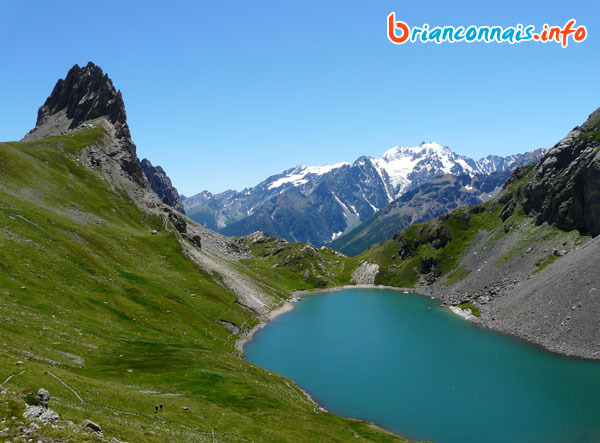 grand lac arêtes de la Bruyère