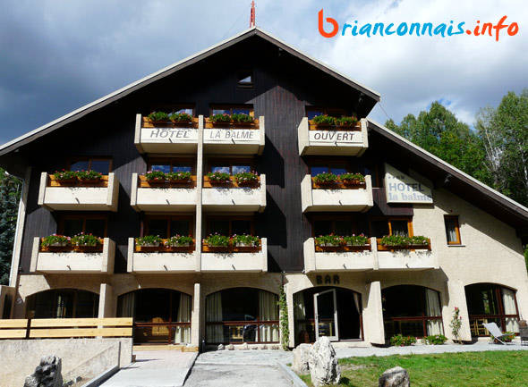 hotel la balme alphand serre chevalier 1350