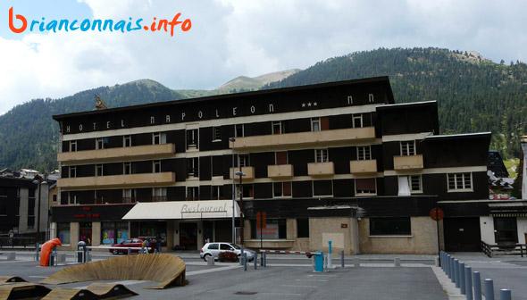 hotel napoléon montgenèvre