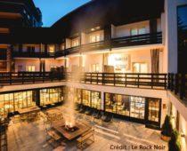 hotel rock noir serre chevalier