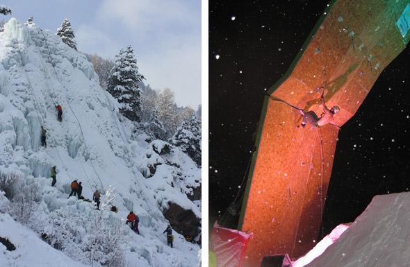 présentation ice climbing écrins 2011