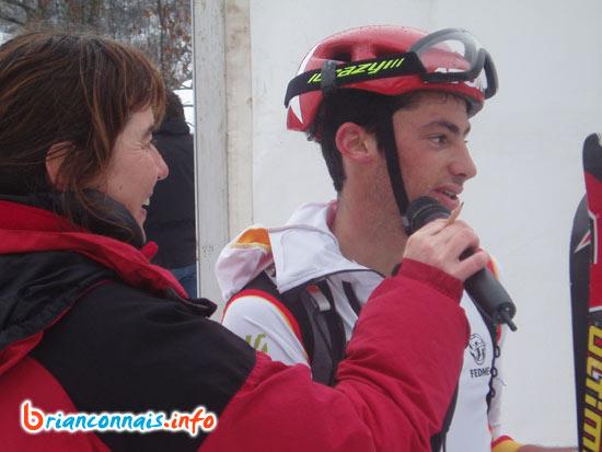 Kilian JORNET BURGADA, vainqueur à Pelvoux