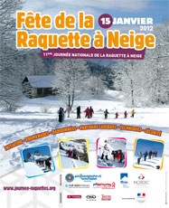 Fête de la raquette à neige 2012 à Cervières