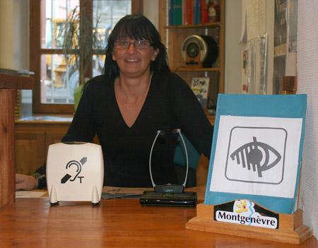 label tourisme handicap à  montgenèvre