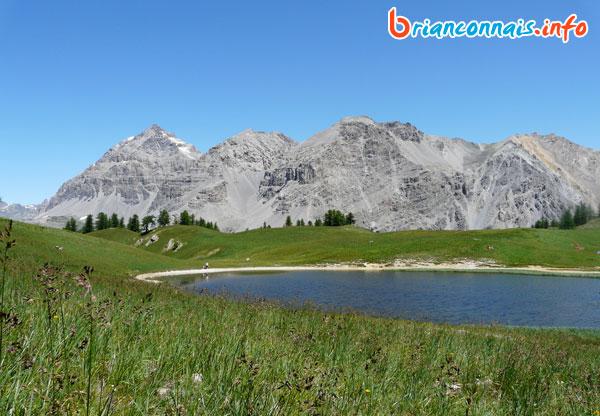 Lac Chavillon au Col des Thures