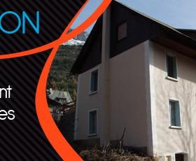 Grand appartement dans maison à Pelvoux