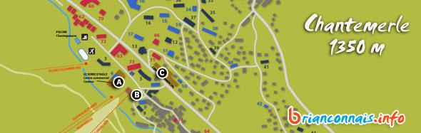 location ski serre chevalier chantemerle 1350