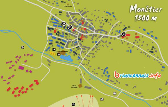 location de ski à serre chevalier monetier 1500 : réservez en ligne votre matériel