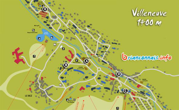 magasins de location de ski à serre chevalier villeneuve 1400