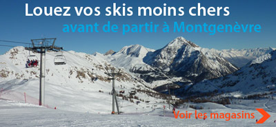 location ski montgenevre