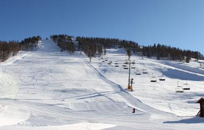 front de neige montgenevre 15 novembre 2012