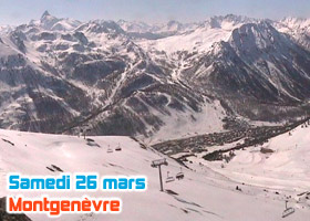 ski montgenèvre 26 mars 2011