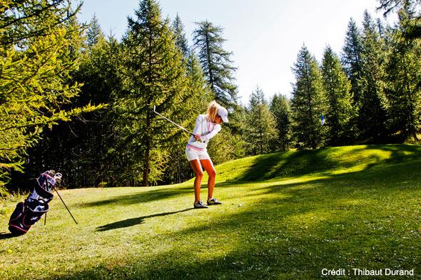 ouverture golf montgenèvre 2011