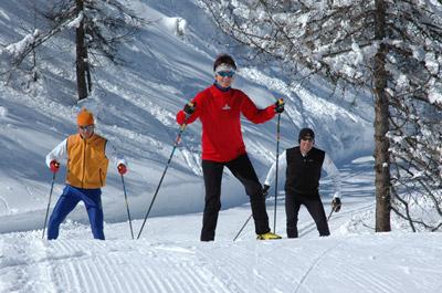 ouverture partielle ski nordique à Montgenèvre