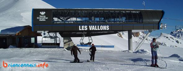 ouverture du télésiège des Vallons