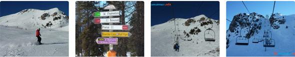 photos domaine skiable montgenèvre