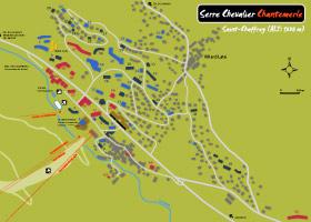 plan serre chevalier chantemerle 1350